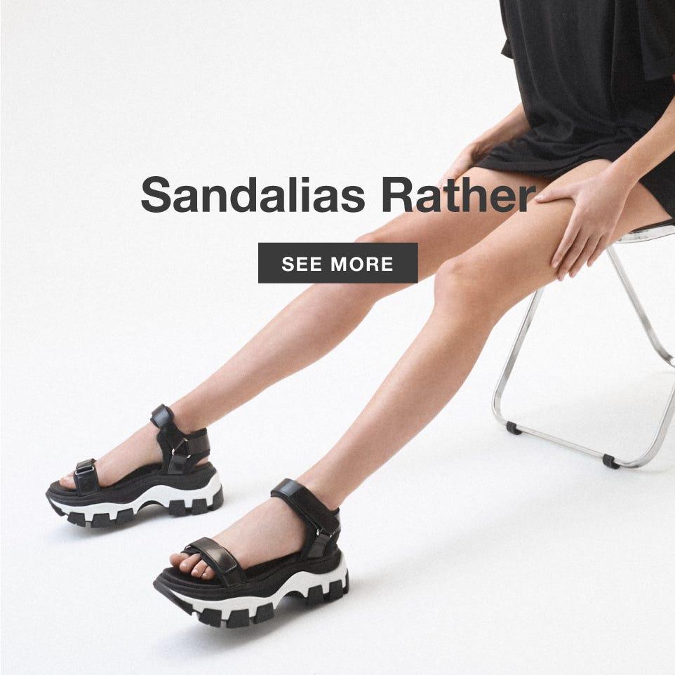 Sandalias Rather